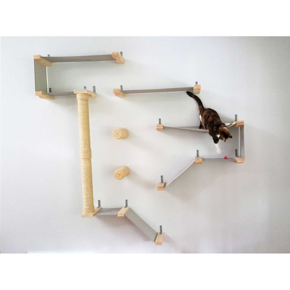 catastrophicreations thunderdome wall mounted cat. Black Bedroom Furniture Sets. Home Design Ideas