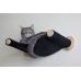 Cat Hammock - Wall Mounted Cat Bed - Black