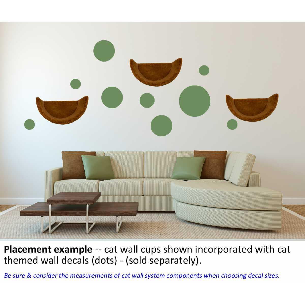 Themed wall accent decal dots circles cat themed wall accent decal dots circles amipublicfo Gallery