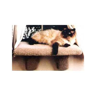 Large Padded Cat Window Perch