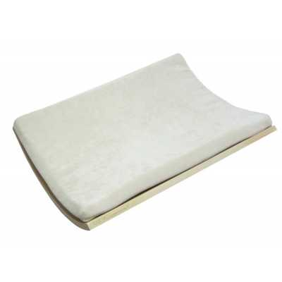 Curve Wall Cat Bed - Birch/Cream