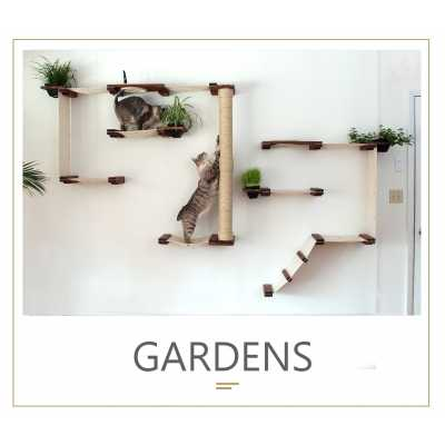 Garden Complex - Wall Mounted for Cats