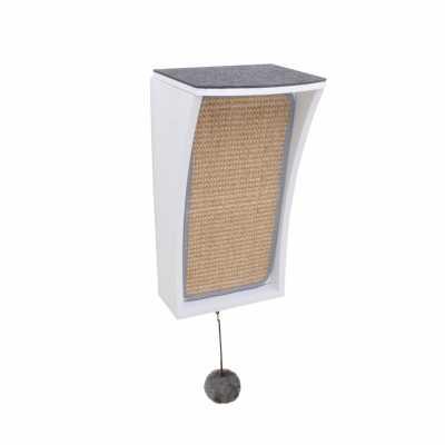 CATchall Wall-mounted Cat Scratcher, Perch & Storage