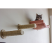 Cat Hammock - Wall Mounted Cat Bed - with 2 Sisal Steps