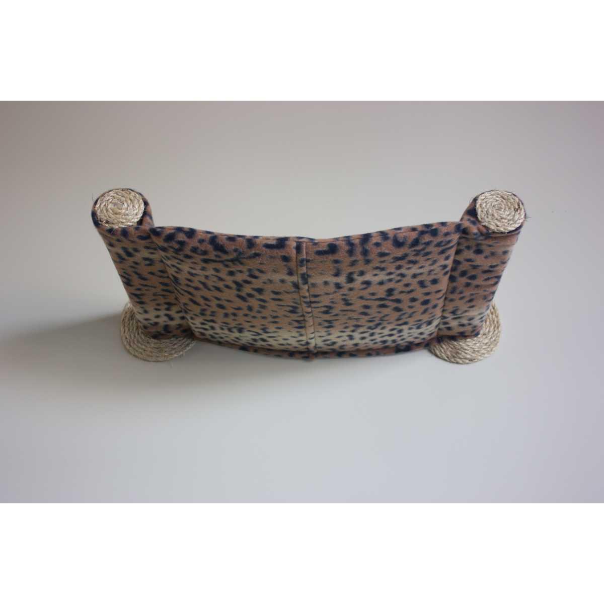 Cat Hammock Wall Mounted Cat Bed Dark Leopard Catwallshelves