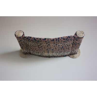 Cat Hammock - Wall Mounted Cat Bed - Dark Leopard
