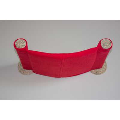 Cat Hammock - Wall Mounted Cat Bed - Red