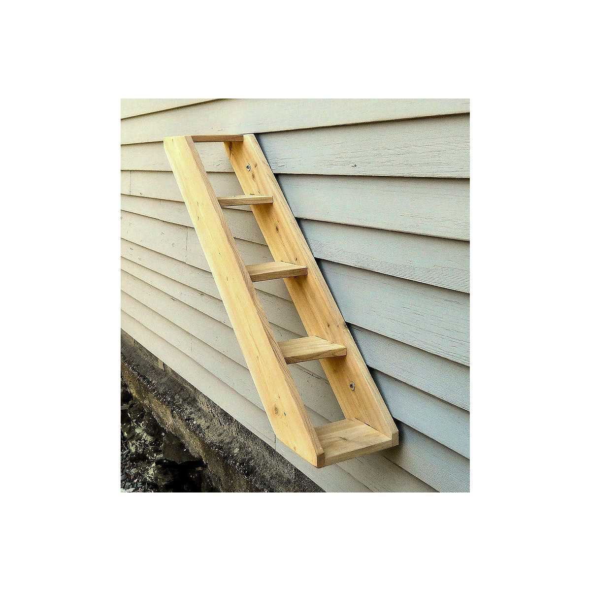 SALE Outdoor Cedar Cat Wall System: Stair / Ladder