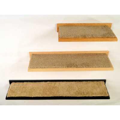 Solid Oak Cat Wall Shelves